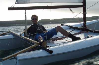 Sailing Catamarans - Quattro 14ft single trapeze beach ...