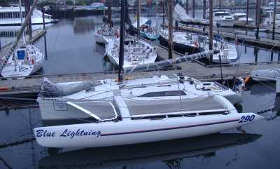 Sailing Catamarans - Racing in British Columbia