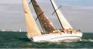 50' racing ketch