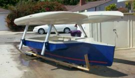 Strike 16 main hull & Quattro 14 outriggers